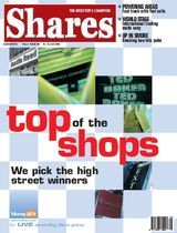 Shares Magazine Cover - 08 Jul 2004