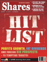 Shares Magazine Cover - 09 Sep 2004