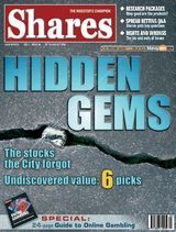 Shares Magazine Cover - 25 Aug 2005