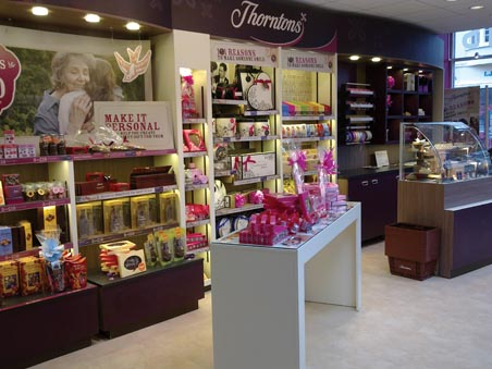 Thorntons- store
