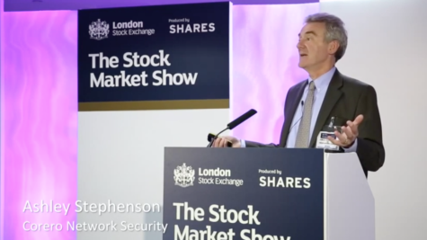 Corero Network Security - The Stock Market Show 2014