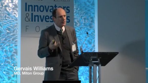 Keynote address - Gervais Williams - Innovators & Investors Forum 2015