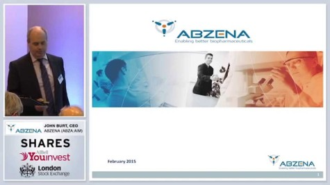 Abzena - Investor Evenings