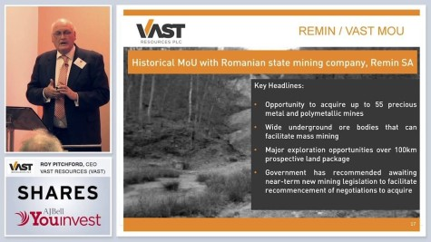 Vast Resources (VAST) - Investor Evening