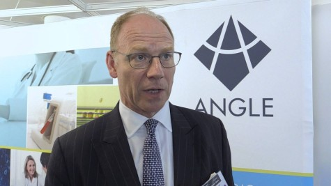 Angle PLC - Andrew Newland - The Stock Market Show 2015