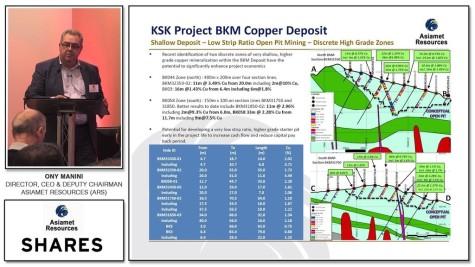 Tony Manini - Asiamet Resources (ARS)