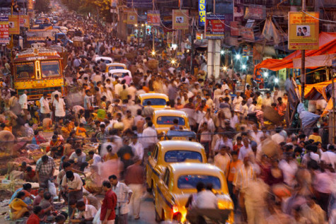 Population-Seven-Billion-picture--India Crowded-Streets