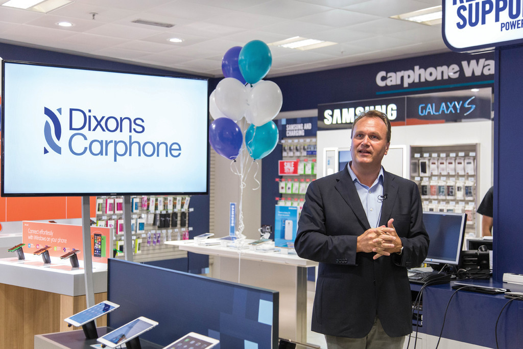 Dixons Carphone like-for-like revenue rises