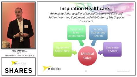 Neil Campbell, CEO of Inspiration Healthcare (IHC)