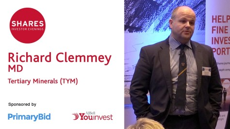 Richard Clemmey, MD - Tertiary Minerals (TYM)