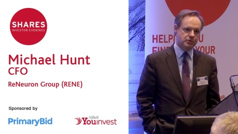 Michael Hunt, CFO - ReNeuron Group (RENE)