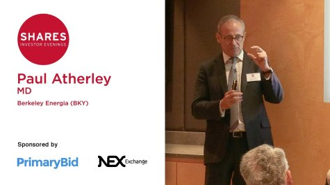 Paul Atherley, MD of Berkeley Energia (BKY)
