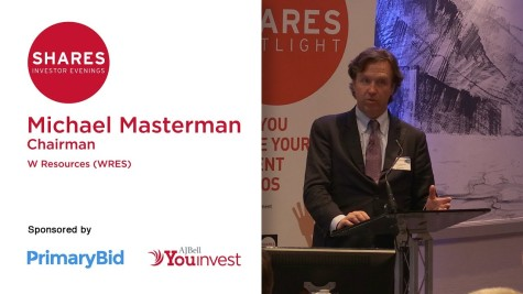 Michael Masterman, Chairman of W Resources (WRES)