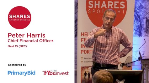Peter Harris, CFO of Next 15 (NFC)