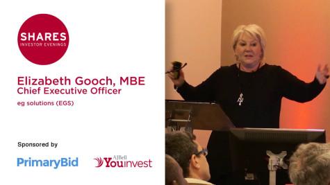 Elizabeth Gooch, MBE - CEO of eg solutions (EGS)