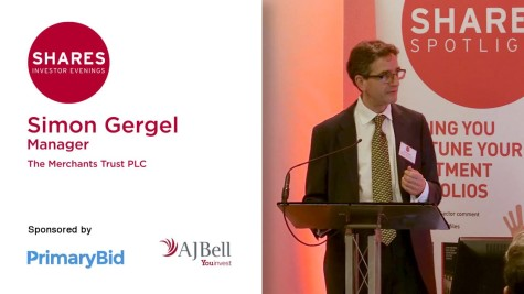 Simon Gergel, Manager - The Merchants Trust PLC