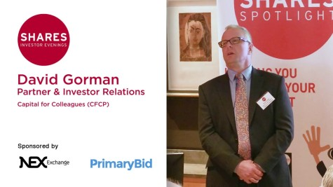 David Gorman, Partner & Investor Relations of Capital for Colleagues (CFCP)