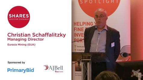 Christian Schaffalitzky, MD of Eurasia Mining (EUA)
