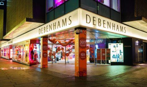 Debenhams rallies on debt agreement lifeline featured picture