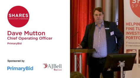 Dave Mutton, Chief Operating Officer of PrimaryBid