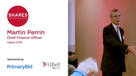 Martin Perrin, CFO of Vipera (VIP)