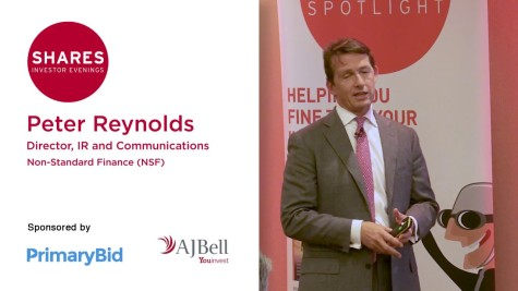 Peter Reynolds, Director, IR and Communications at Non-Standard Finance (NSF)
