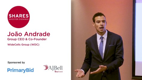João Andrade, Group CEO & Co-Founder at Widecells Group (WDC)