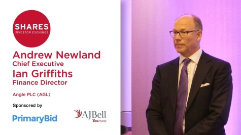 Andrew Newland, Chief Executive of ANGLE (AGL)