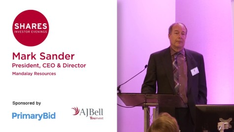 Mark Sander, President, CEO & Director of Mandalay Resources