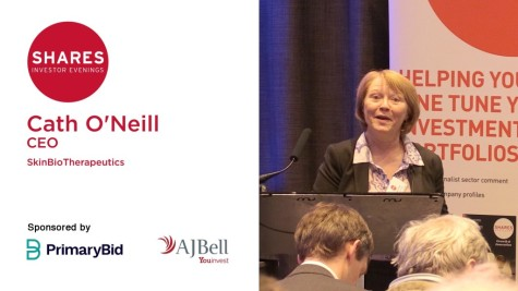 Cath O'Neill, CEO - SkinBioTherapeutics