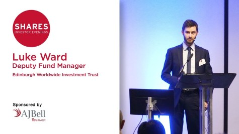 Luke Ward, Deputy Fund Manager - Edinburgh Worldwide Investment Trust (EWI)