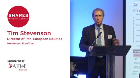 Tim Stevenson, Director of Pan-European Equities at Henderson EuroTrust