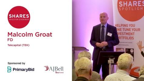 Malcolm Groat, FD - Tekcapital (TEK)