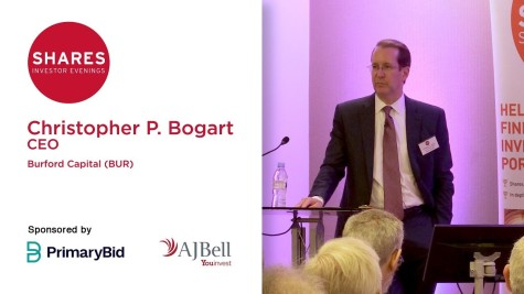 Christopher P. Bogart, CEO - Burford Capital (BUR)