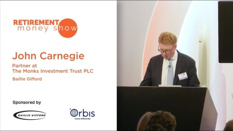 John Carnegie, The Monks Investment Trust PLC, Partner – Baillie Gifford