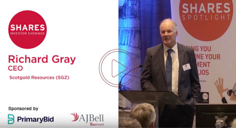 Richard Gray, CEO - Scotgold Resources (SGZ)
