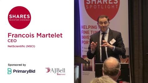 Francois Martelet, CEO - NetScientific (NSCI)