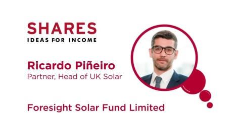 Ricardo Piñeiro, Foresight Solar Fund Limited