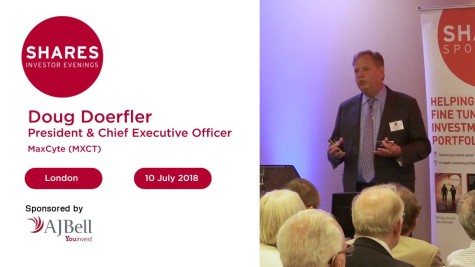 Doug Doerfler, President & CEO Maxcyte
