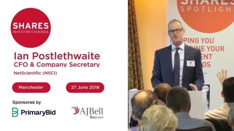 Ian Postlethwaite, CFO & Company Secretary - NetScientific (NSCI)