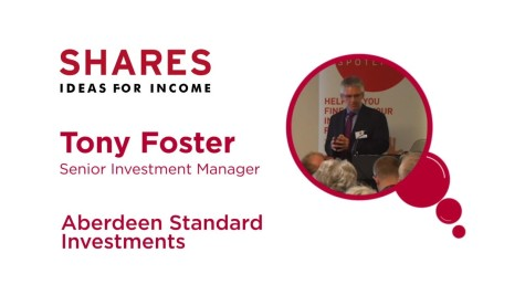Tony Foster, Senior Investment Manager - Aberdeen Standard Investments