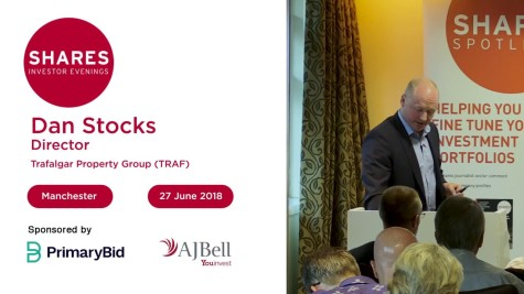 Dan Stocks, Director - Trafalgar Property Group (TRAF)