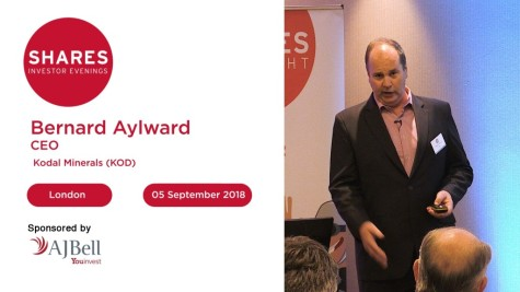Bernard Aylward, CEO - Kodal Minerals (KOD)