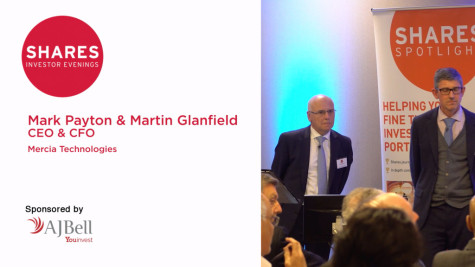 Mark Payton, CEO  & Martin Glanfield, CFO of Mercia Technologies
