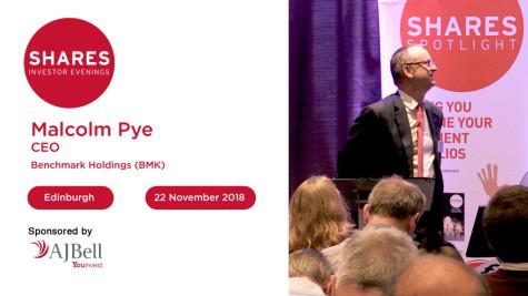 Benchmark Holdings (BMK) - Malcolm Pye, CEO