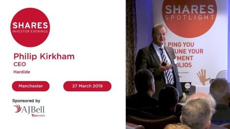 Hardide - Philip Kirkham, CEO