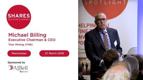 Thor Mining (THR) - Michael Billing, Executive Chairman & CEO