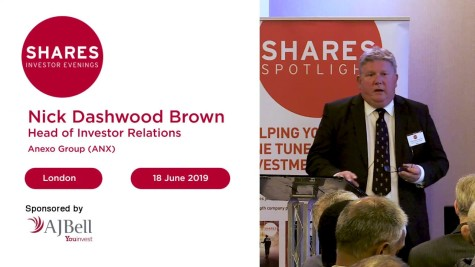 Anexo Group (ANX) - Nick Dashwood Brown, Head of Investor Relations
