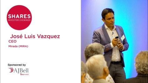 Mirada (MIRA) - José Luis Vázquez, CEO