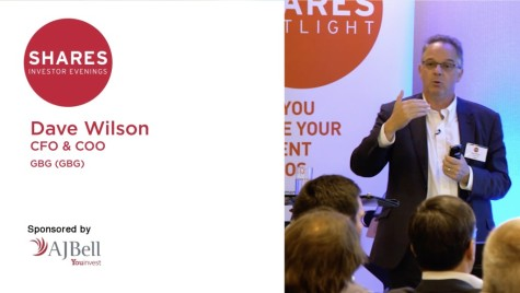 GB Group (GBG) - Dave Wilson, Finance Director